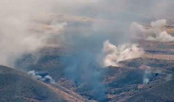 Ереван заявил об уничтожении используемого Баку израильского броневика
