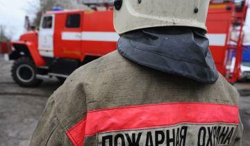 На юге Москвы ликвидировали пожар на складе