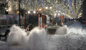 Бирюков: городские службы Москвы готовы к предстоящему снегопаду