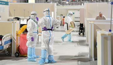 В Москве за сутки госпитализировали более 770 пациентов с коронавирусом