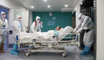 В Москве госпитализировали 1070 человек с COVID-19 за сутки