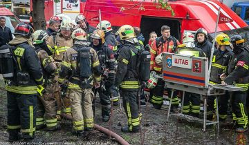 Умерли двое пострадавших при пожаре в гостинице в Москве