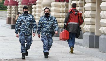Полиция проверила соблюдение санитарных мер в московских ресторанах