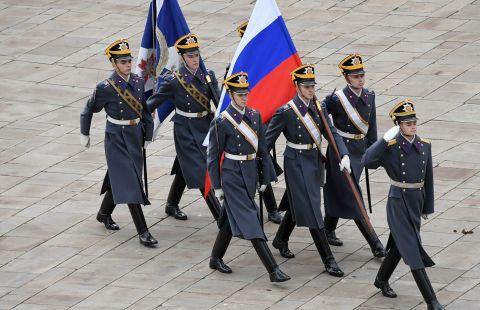 Президентский полк службы коменданта Московского Кремля ФСО России