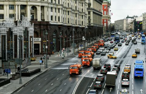 Часть улиц в центре Москвы перекроют 4 мая из-за подготовки ко Дню Победы