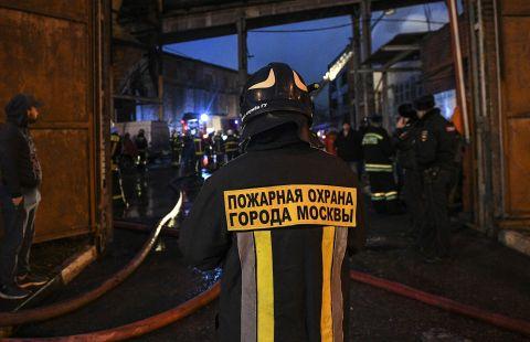 В Москве при пожаре в гостинице пострадали 18 человек