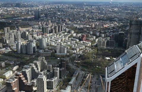 Инвесторы за 10 лет построили в Москве 86% недвижимости