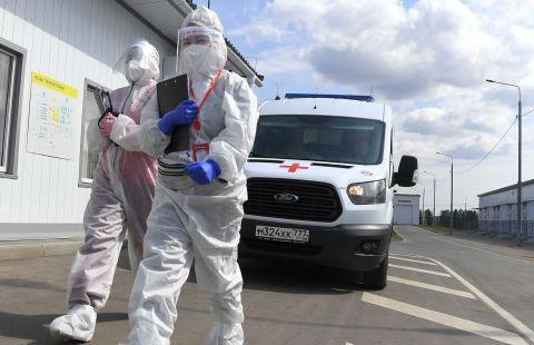 В Москве выявили 4287 новых случаев заражения коронавирусом