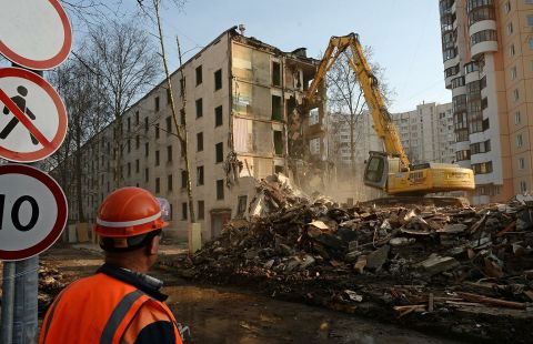 В Москве по программе реновации снесли 59 домов